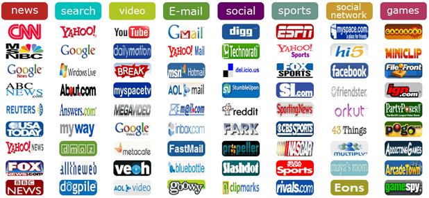 websites logos